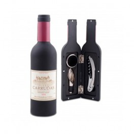 Bottiglia di vino - Set 3 pezzi