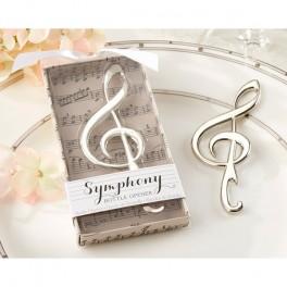 Apribottiglie a forma di nota musicale