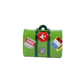 Salvadanaio a forma di valigia