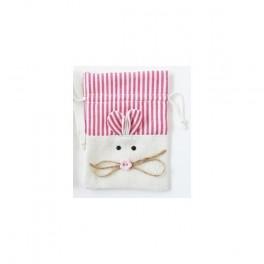 """Sacchetti di tessuto """"Coniglio Rosa"""""""